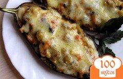 Фото рецепта: «Фаршированные овощные баклажаны с базиликом»