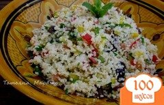 Фото рецепта: «Табуле по-восточному с изюмом (Taboulé oriental aux raisins)»