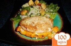 Фото рецепта: «Фаршированные куриные грудки»