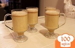 Фото рецепта: «Горячий сливочный напиток с ромом»