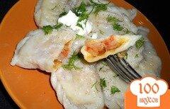 Фото рецепта: «Вареники с капустой на сыворотке»