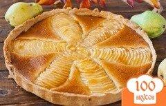 Фото рецепта: «Пирог «Груши в миндальном креме»»