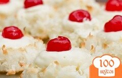 Фото рецепта: «Миндальное печенье с лаймовой начинкой»