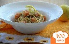 Фото рецепта: «Спагетти карбонара с тыквой»