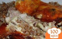 Фото рецепта: «Курица, запеченная с гречкой»