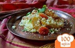Фото рецепта: «Пряный гарнир с грушами»