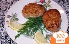 Фото рецепта: «Домашние котлеты с сыром и изюмом»