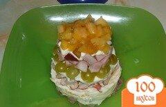"""Фото рецепта: «Салат """"Три вкуса""""»"""