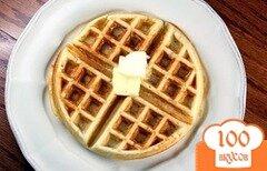 Фото рецепта: «Тесто для вафель»
