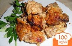 Фото рецепта: «Свинина под яблочным соусом»