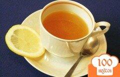 Фото рецепта: «Ароматный тонизирующий напиток на основе зеленого чая»