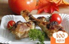 Фото рецепта: «Куриные голени/части в грейпфрутовом соке»