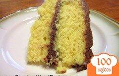 Фото рецепта: «Торт с шоколадным кремом»