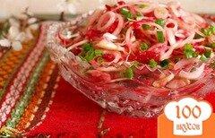 Фото рецепта: «Фитнес-салат с яблоком и свеклой»