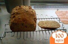 Фото рецепта: «Хлеб с медом и семенами подсолнуха в хлебопечке»