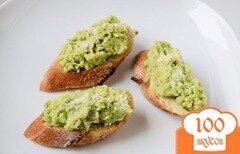Фото рецепта: «Брускетта с авокадо»