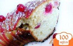 Фото рецепта: «Воздушный кекс с «кислинкой»»