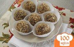 Фото рецепта: «Шоколадные трюфеля»