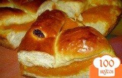 Фото рецепта: «Пирог открытый с тыквой»