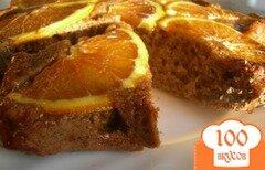 Фото рецепта: «Кофейный пирог с апельсинами»