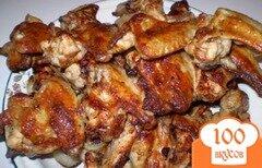 Фото рецепта: «Крылья в луковом соке на мангале»