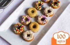 Фото рецепта: «Миниатюрные лимонные пончики»