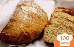 Фото рецепта: «Хлеб, как из русской печки, на пшённой каше.»