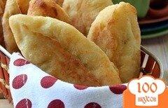 Фото рецепта: «Творожные пирожки с курицей и сыром»