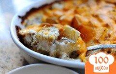 Фото рецепта: «Картофель запеченный с сыром»