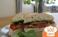 Фото рецепта: «Вегетарианский сендвич»
