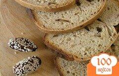 Фото рецепта: «Хлеб с зеленым чаем и финиками»