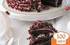 Фото рецепта: «Торт с вишней»