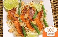 Фото рецепта: «Рис с копченым лососем»