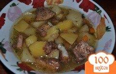 Фото рецепта: «Аппетитное рыбное жаркое»