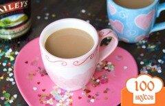 Фото рецепта: «Кофе со сгущенным молоком и сливочным ликером»
