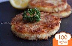 Фото рецепта: «Картофельные биточки с тунцом»