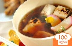 Фото рецепта: «Суп из утятины с луком-пореем»