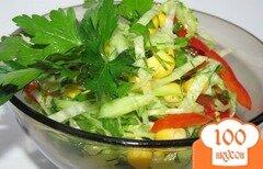 Фото рецепта: «Салат» худейка»