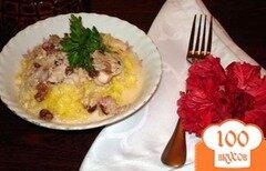 Фото рецепта: «Кукурузная каша с изюмом»