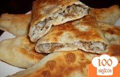 Фото рецепта: «Пирожки с вешенками»