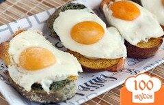 Фото рецепта: «Тосты с яйцом на завтрак»
