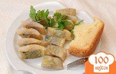Фото рецепта: «Закуска «Селедка горчичная»»