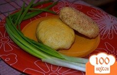 Фото рецепта: «Картофельные зразы с печенью»
