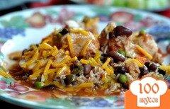 Фото рецепта: «Запеканка куриная с сальсой»