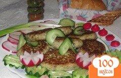 """Фото рецепта: «Рыбные котлеты с брокколи и имбирем """"Полезное удовольствие""""»"""
