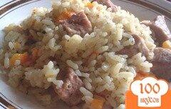 Фото рецепта: «Рис со свининой а-ля плов»