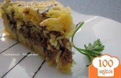 Фото рецепта: «Рисовый пирог с мясной начинкой»