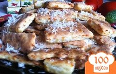 Фото рецепта: «Печенье пряное с сыром»