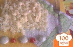 Фото рецепта: «Макароны рожки с сыром»