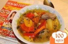 "Фото рецепта: «Восточный суп ""Шурпа""»"